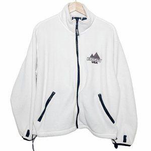 DKNY Fleece RARE Classic Zip Up Jacket USA Size S